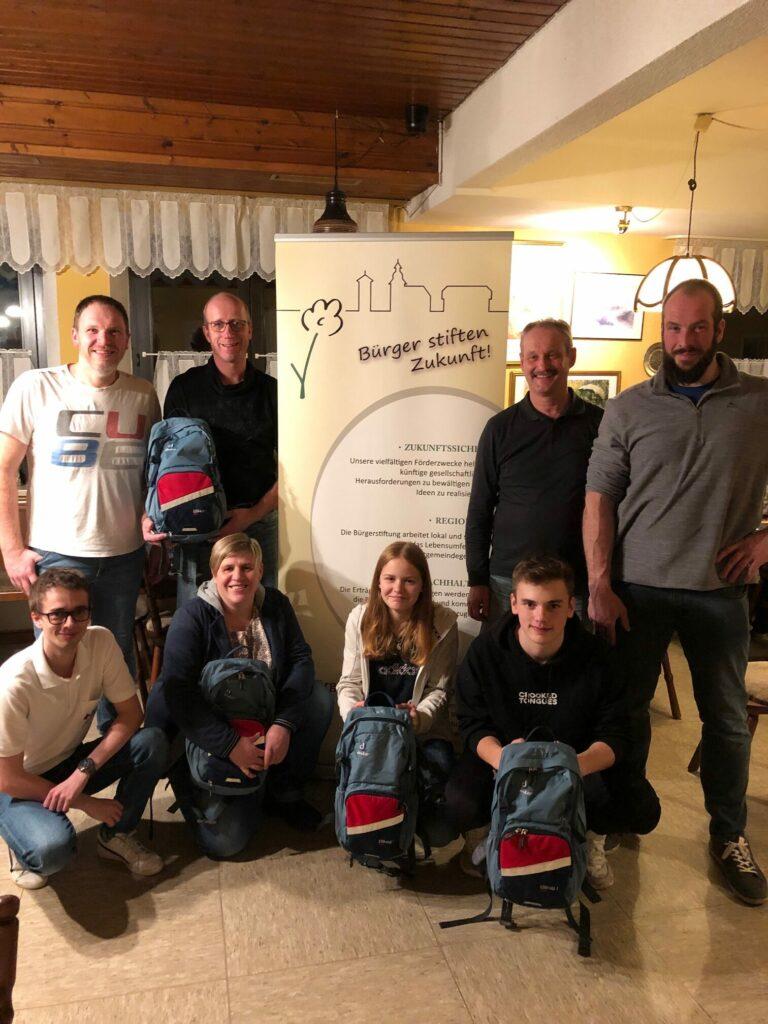 BRK-Schulung der Abteilung MTB des Turnverein Stammbach